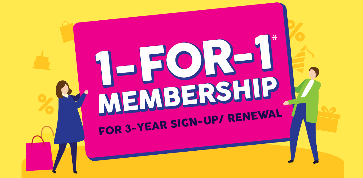 1-For-1 Membership