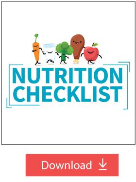 Nutrition Checklist