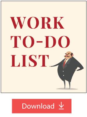 Work To-Do List