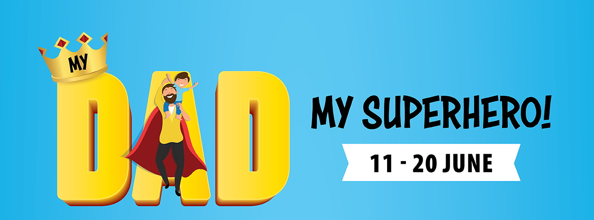 My Dad, My Superhero!