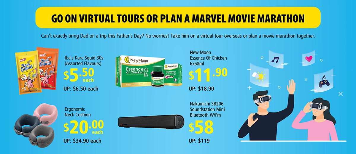 Go on Virtual Tours or Plan a Marvel Movie Marathon