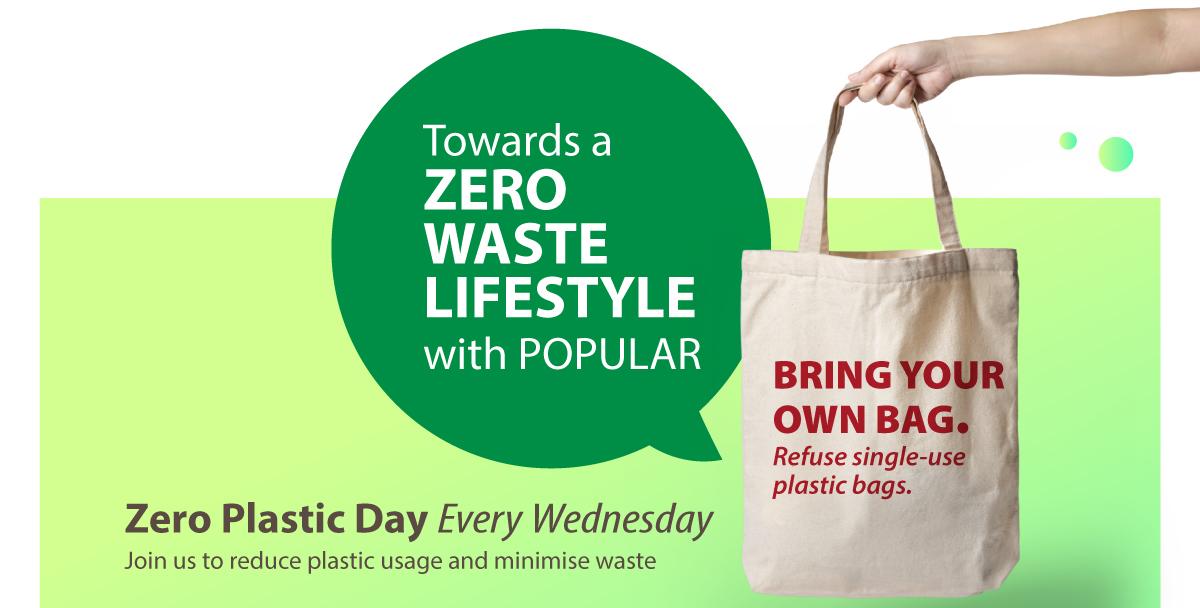 Towards a Zero Waste Lifestyle with POPULAR