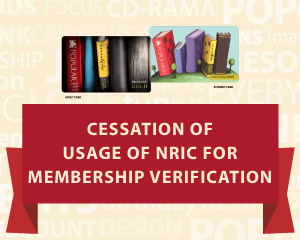 Cessation of Usage of NRIC