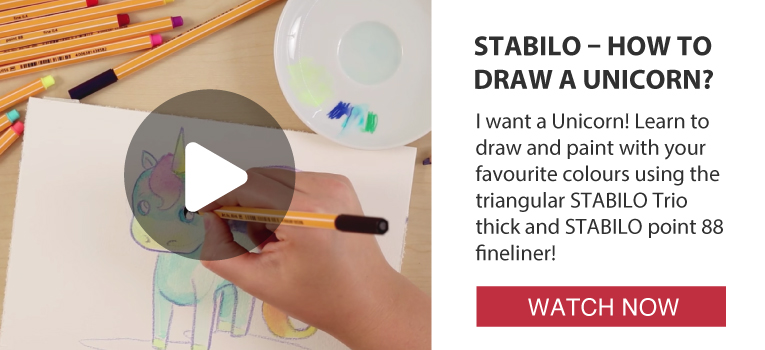 Activities: Stabilo - How to draw a unicorn