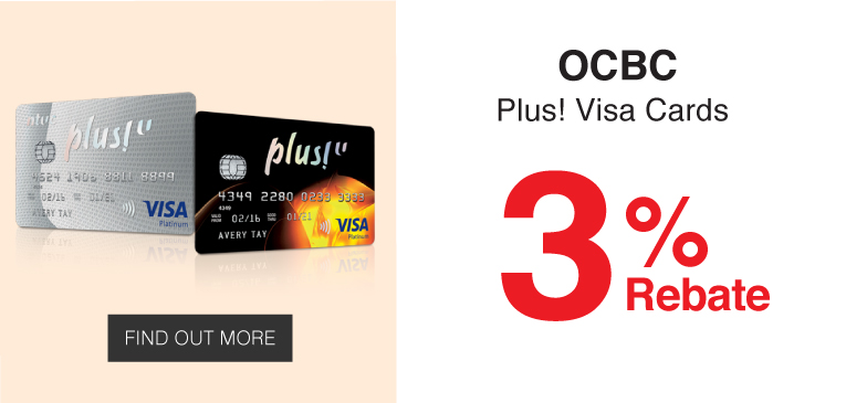 OCBC Plus! Visa Cards