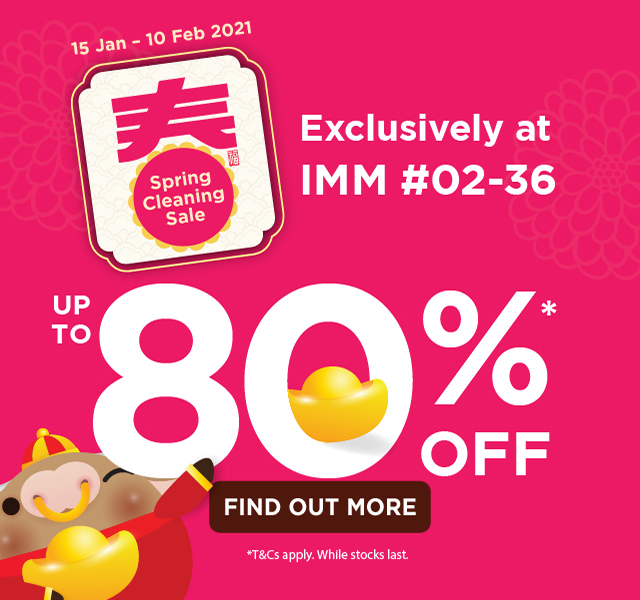 POPULAR IMM - Spring Cleaning Sale
