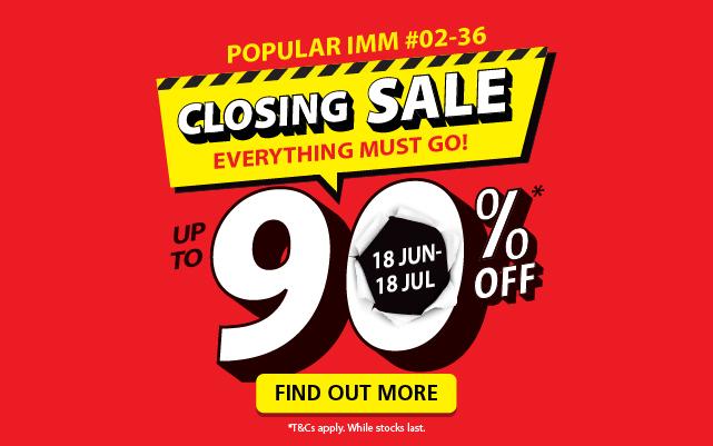 POPULAR IMM Closing Sale 18 Jun- 18 July